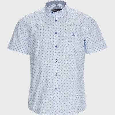 Geneve K/Æ Skjorte Regular fit | Geneve K/Æ Skjorte | Blå