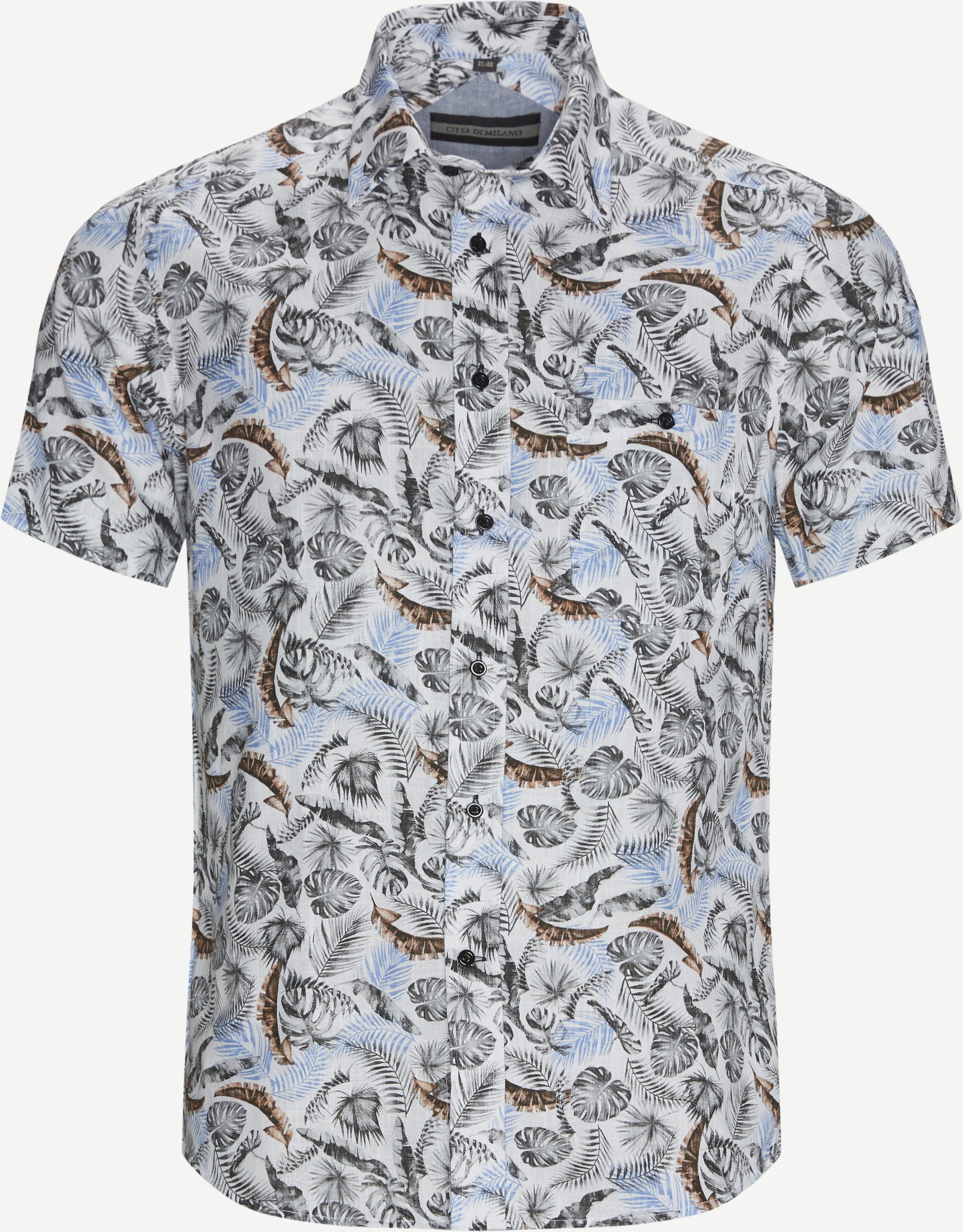 Kortärmade skjortor - Grå