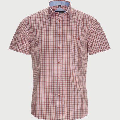 Regular fit | Kurzärmlige Hemden | Rot
