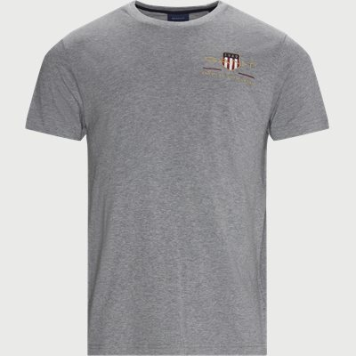 Archive Shield T-shirt Regular   Archive Shield T-shirt   Grå