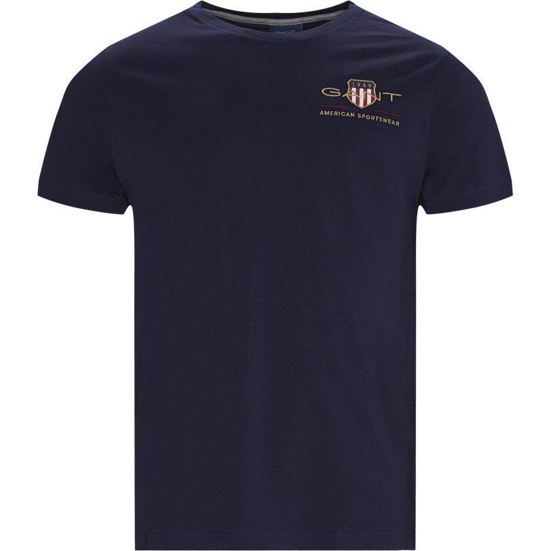 Gant - logo t-shirt fra gant fra kaufmann.dk