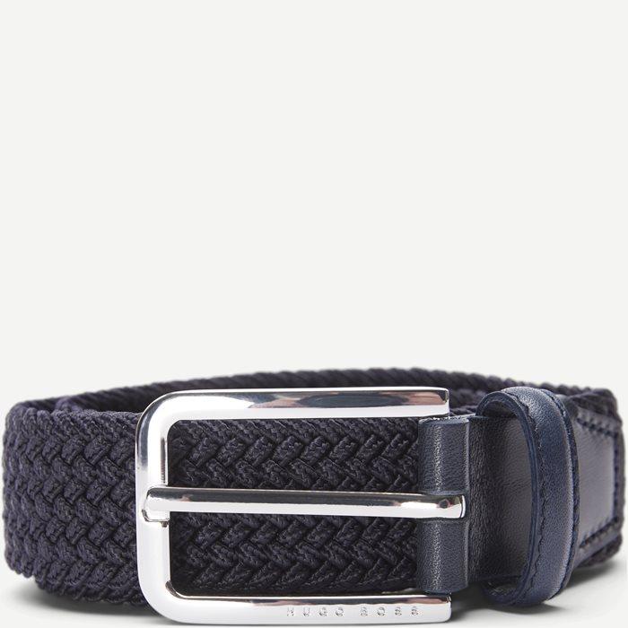 Clorio Belt - Bælter - Blå