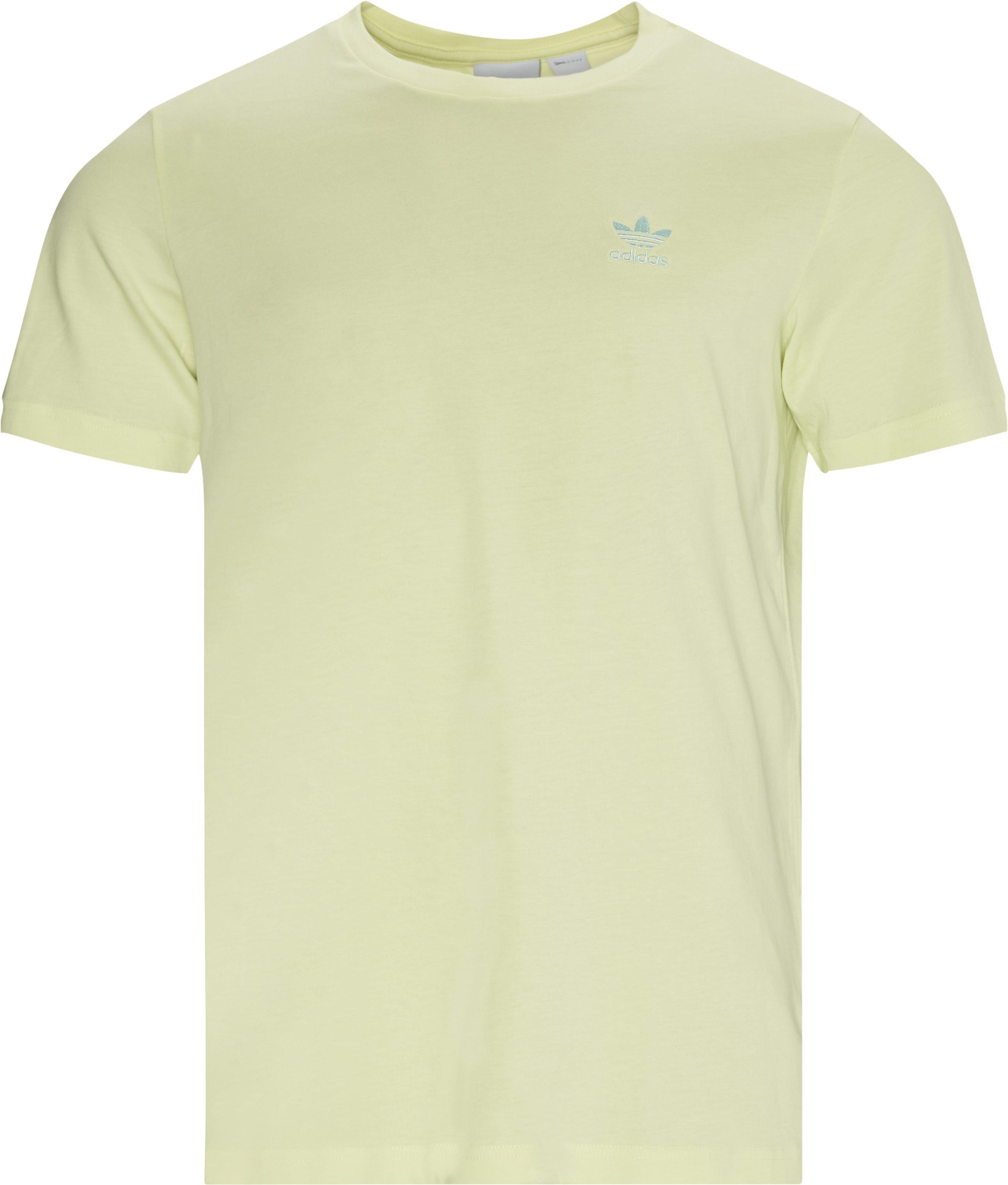 Essential Tee - T-shirts - Regular - Yellow