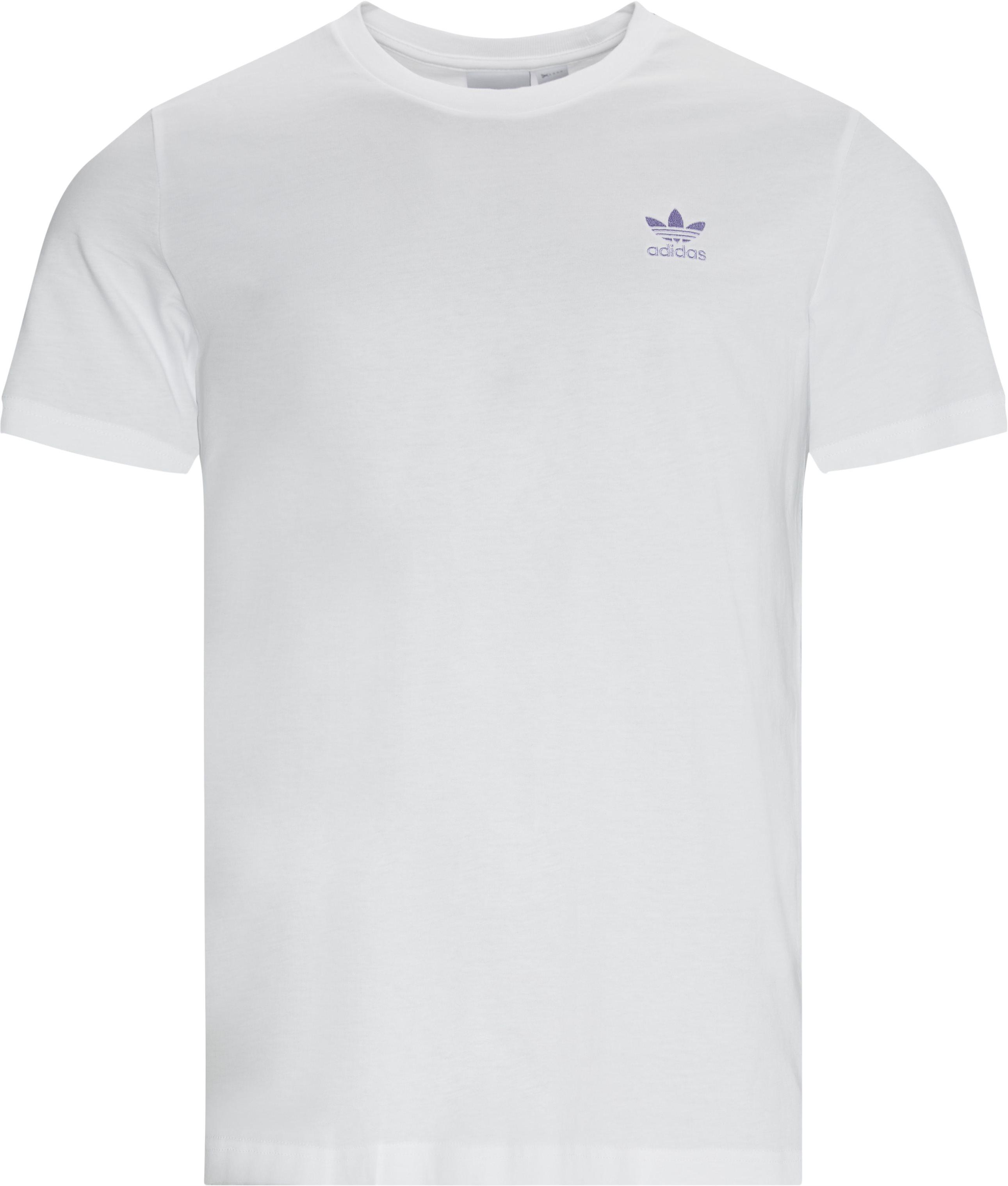 Essential Tee - T-shirts - Regular - Vit