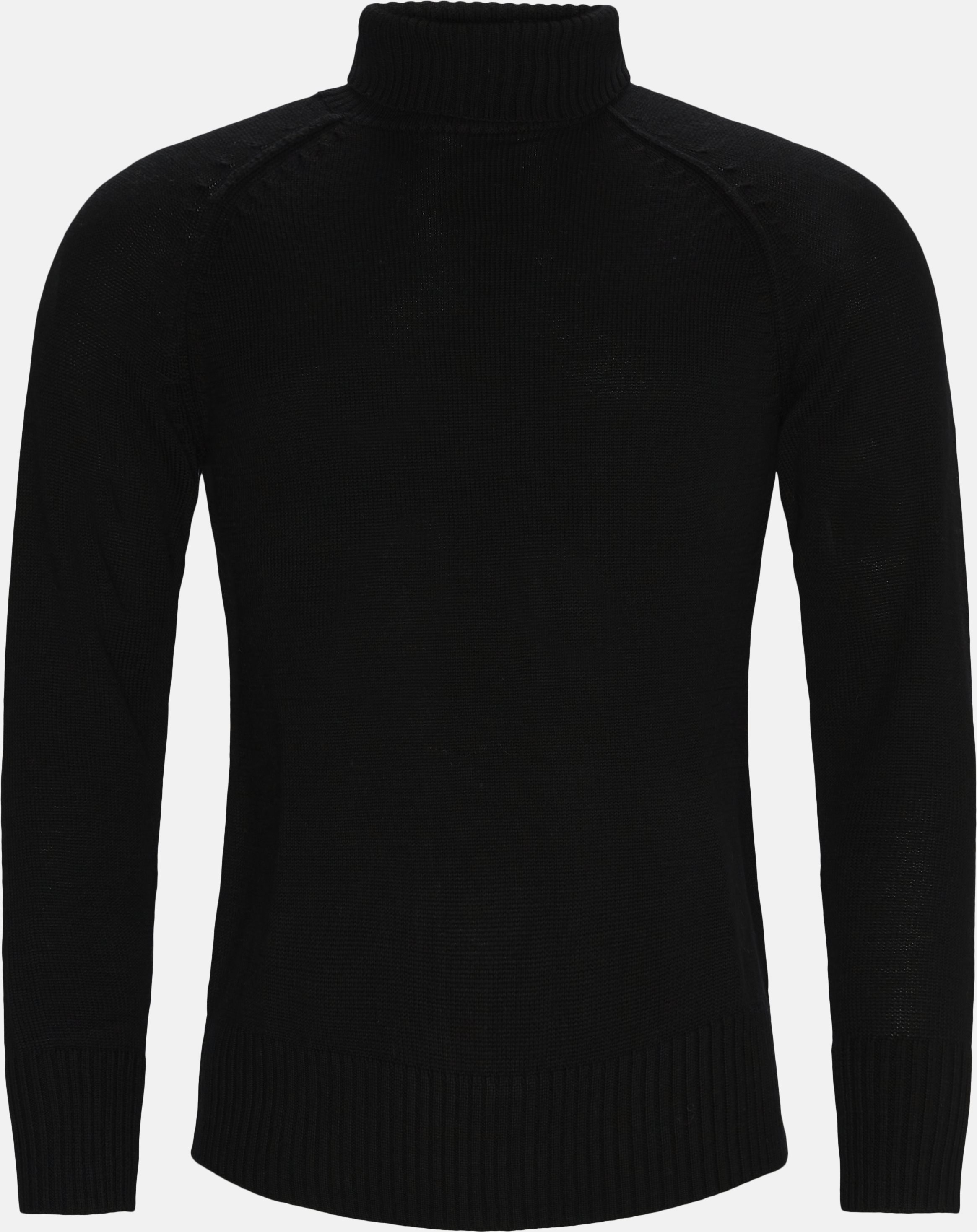 Erik Rollneck - Strik - Regular - Sort
