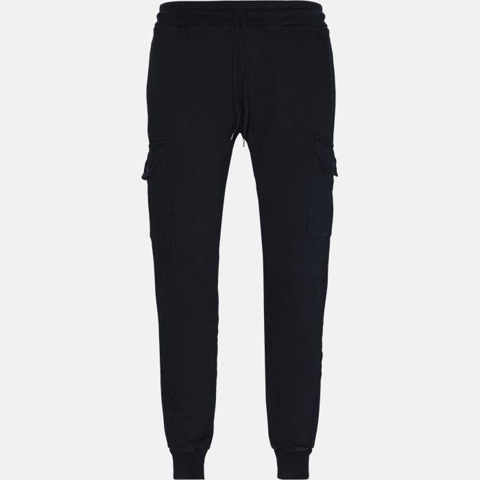 Track-suit Bukser - Bukser - Regular - Blå