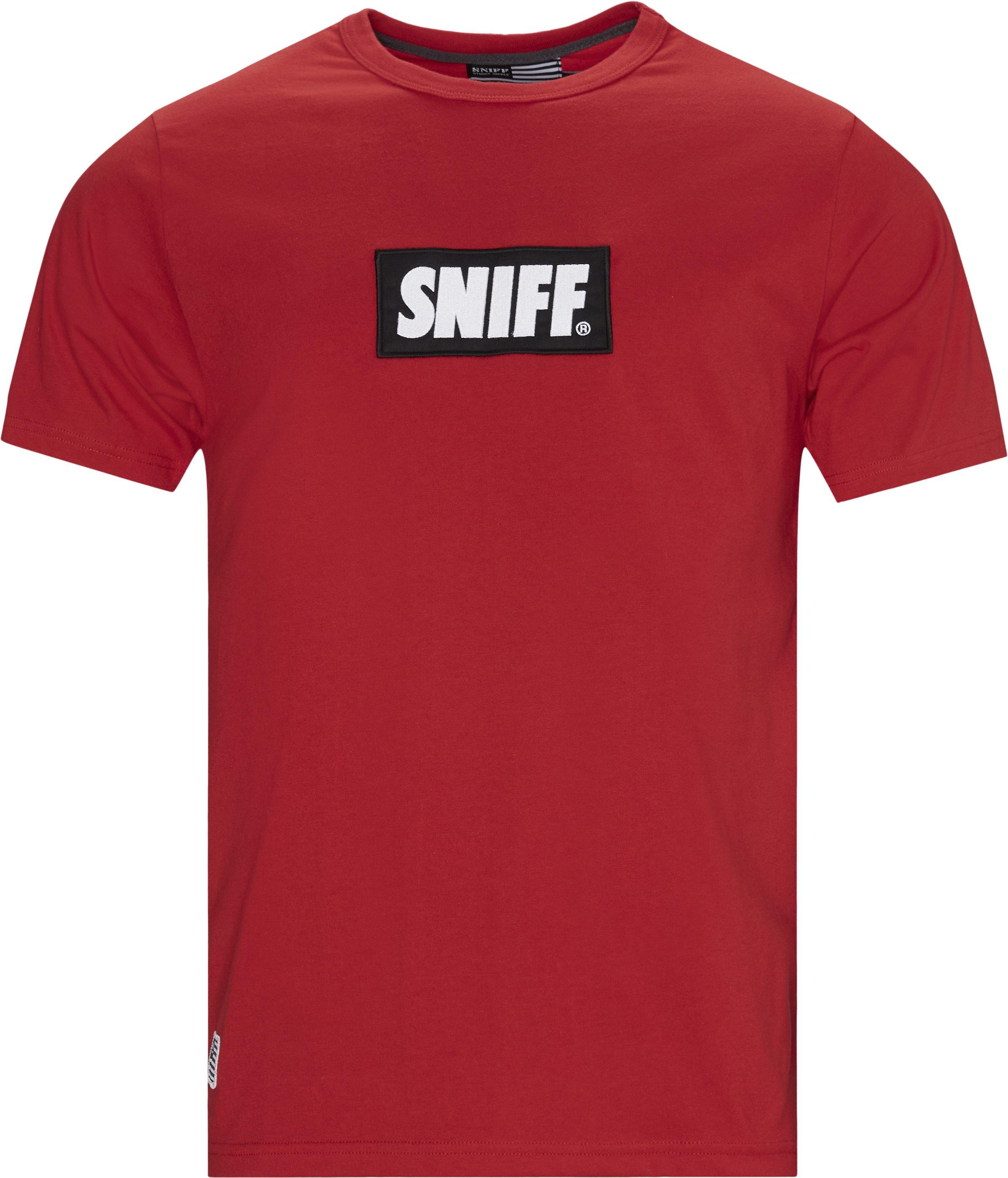 Taos Tee - T-shirts - Regular - Röd