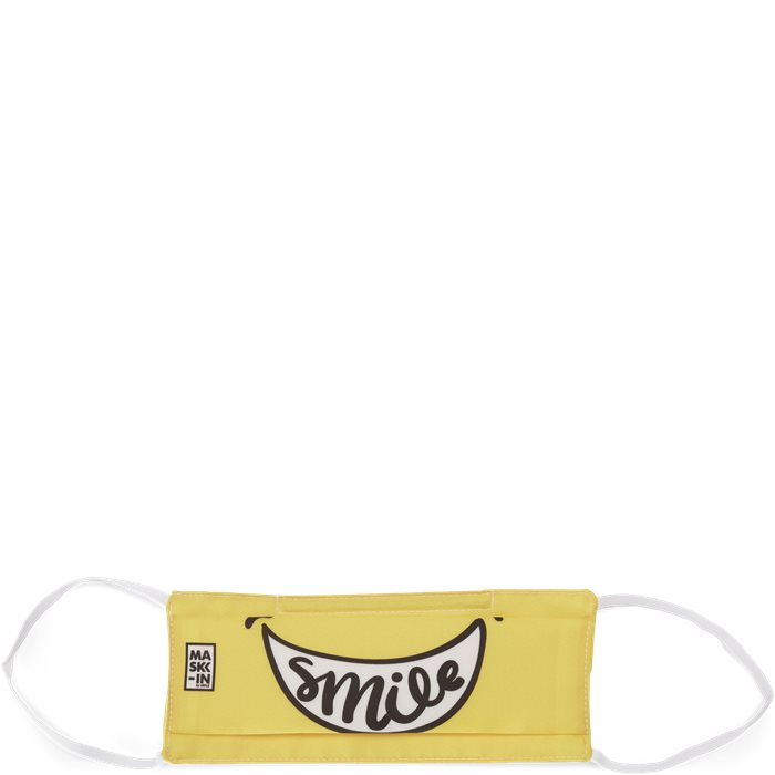 Smiley Face Mask - Accessoarer - Gul
