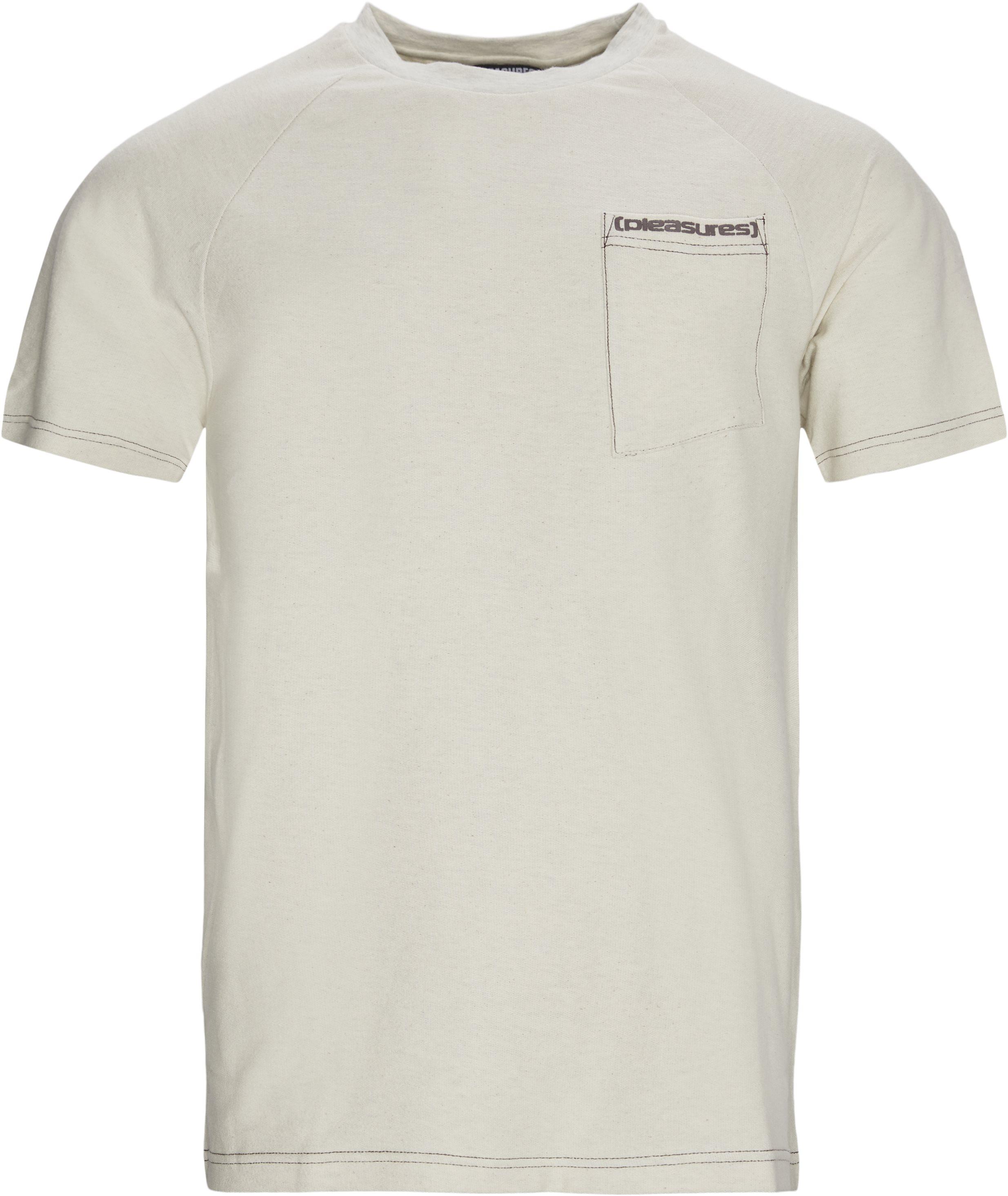 Vulgar Raglan Tee - T-shirts - Regular - Sand