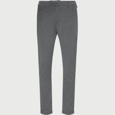 Como Suit Pants Slim | Como Suit Pants | Grå