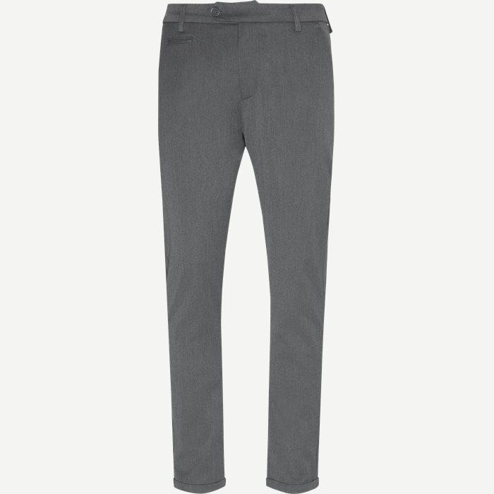Como Suit Pants - Bukser - Slim - Grå
