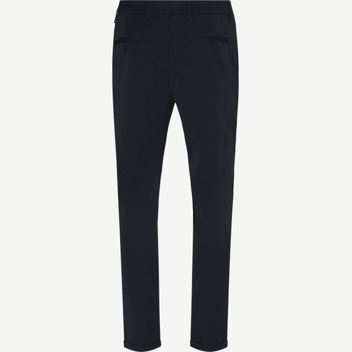 Como Suit Pants - Bukser - Slim - Blå