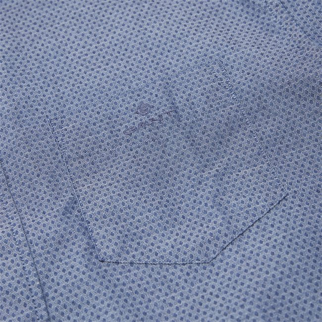 TP Indigo Dobby Reg Shirt