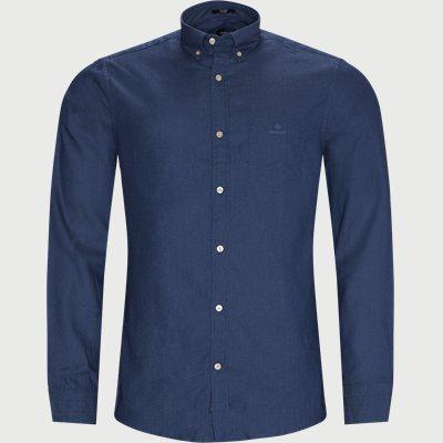 TP Indigo Dobby Reg Shirt Regular | TP Indigo Dobby Reg Shirt | Blå