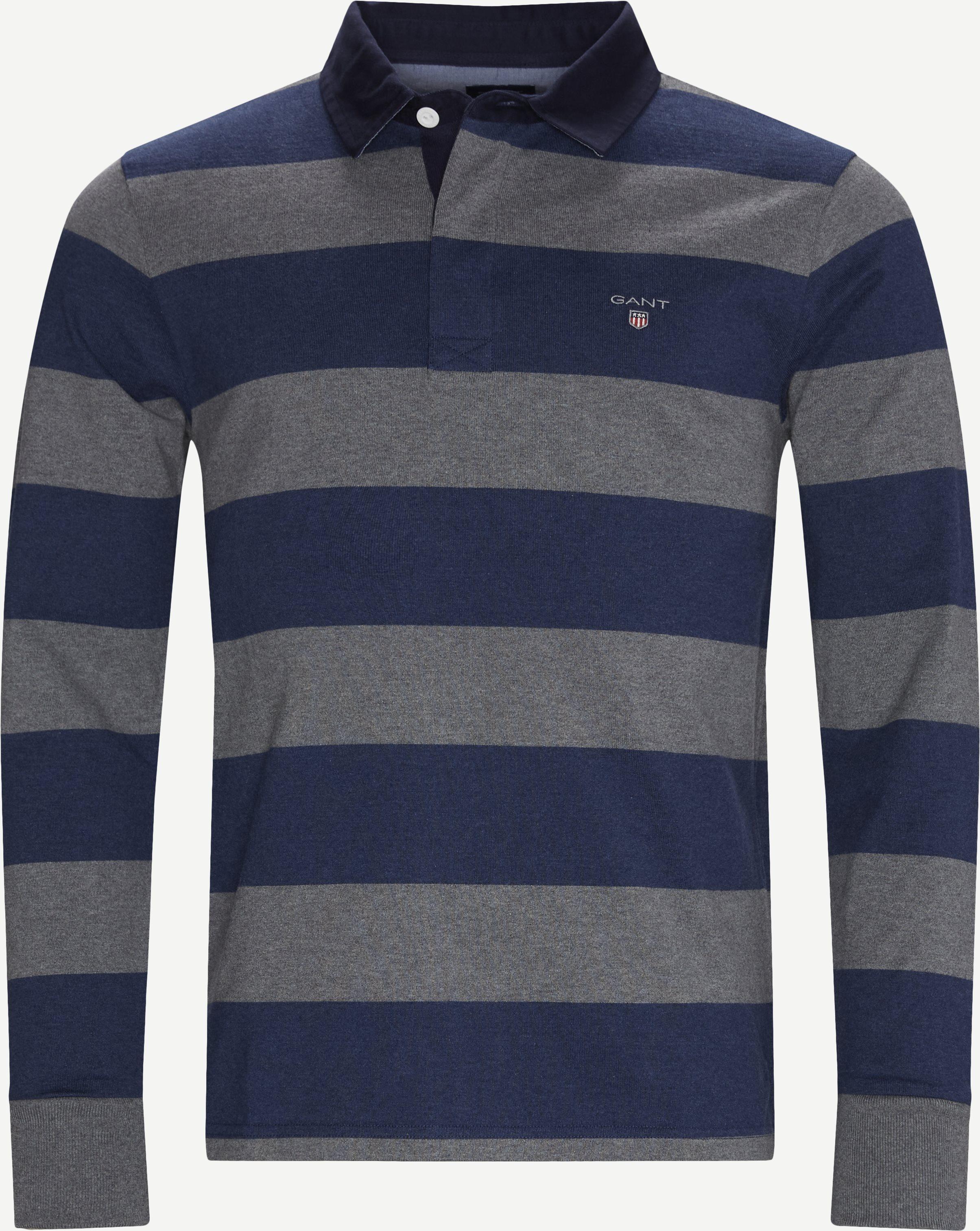 Original Heavy Rugger LS T-shirt - T-shirts - Regular fit - Blue