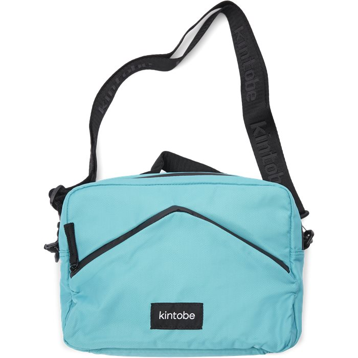 Camille Messenger Bag - Bags - Turquoise