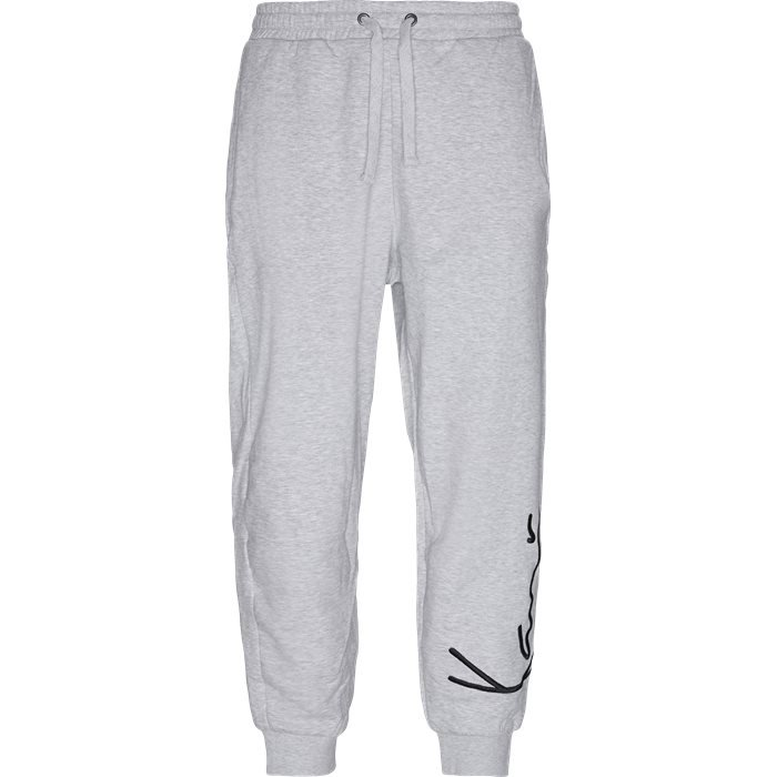Signature Sweatpant - Bukser - Regular - Grå