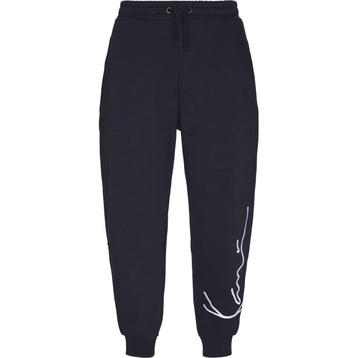 Signature Sweatpant - Byxor - Regular - Blå
