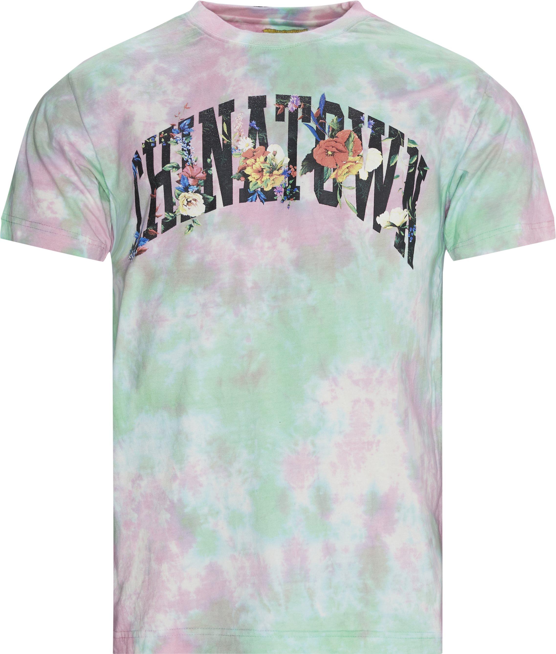 Flower Arc Tee - T-shirts - Regular fit - Multi