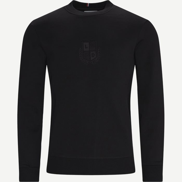Shield Sweatshirt - Sweatshirts - Regular - Black