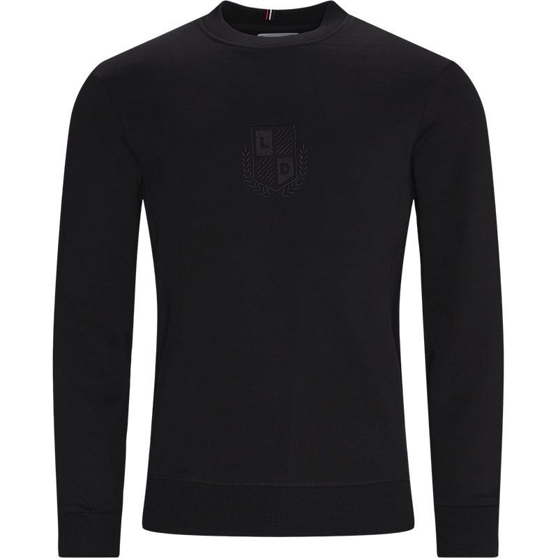 les deux – Les deux - shield sweatshirt fra kaufmann.dk