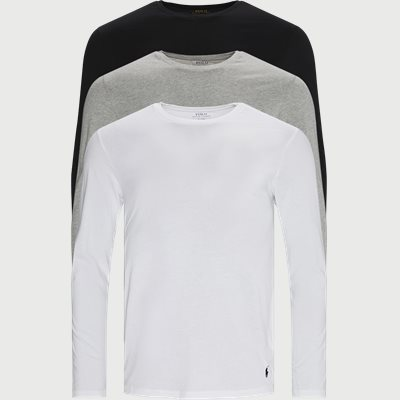 3-pack Long Sleeve Classic Crew T-shirt Regular | 3-pack Long Sleeve Classic Crew T-shirt | Multi