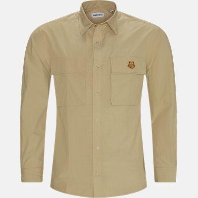 Oversize fit | Skjorter | Sand