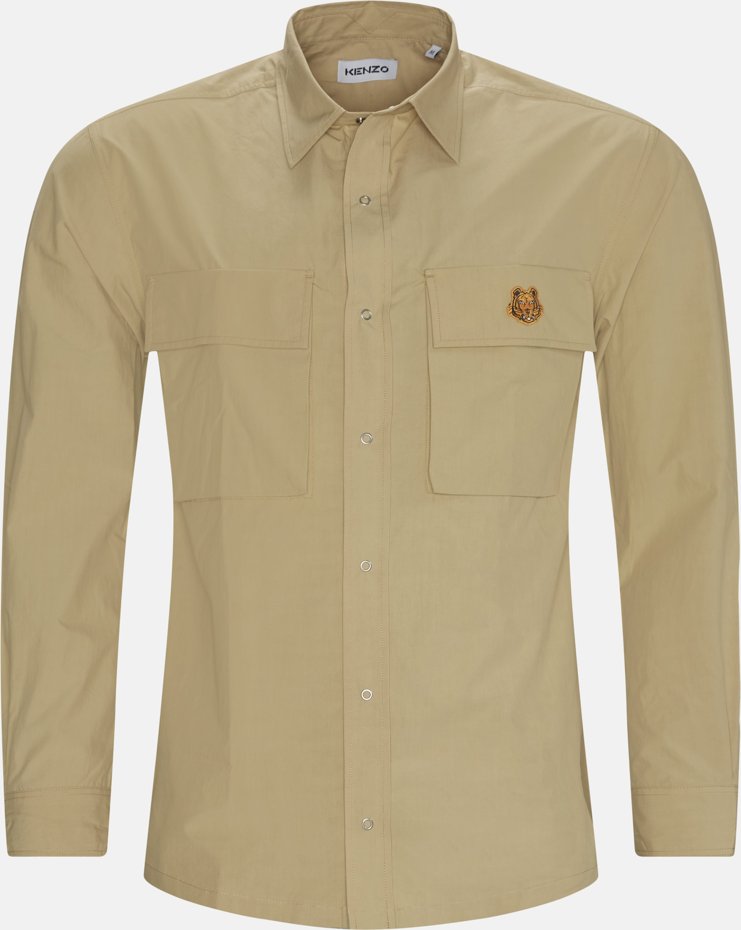 Shirts - Oversize fit - Sand