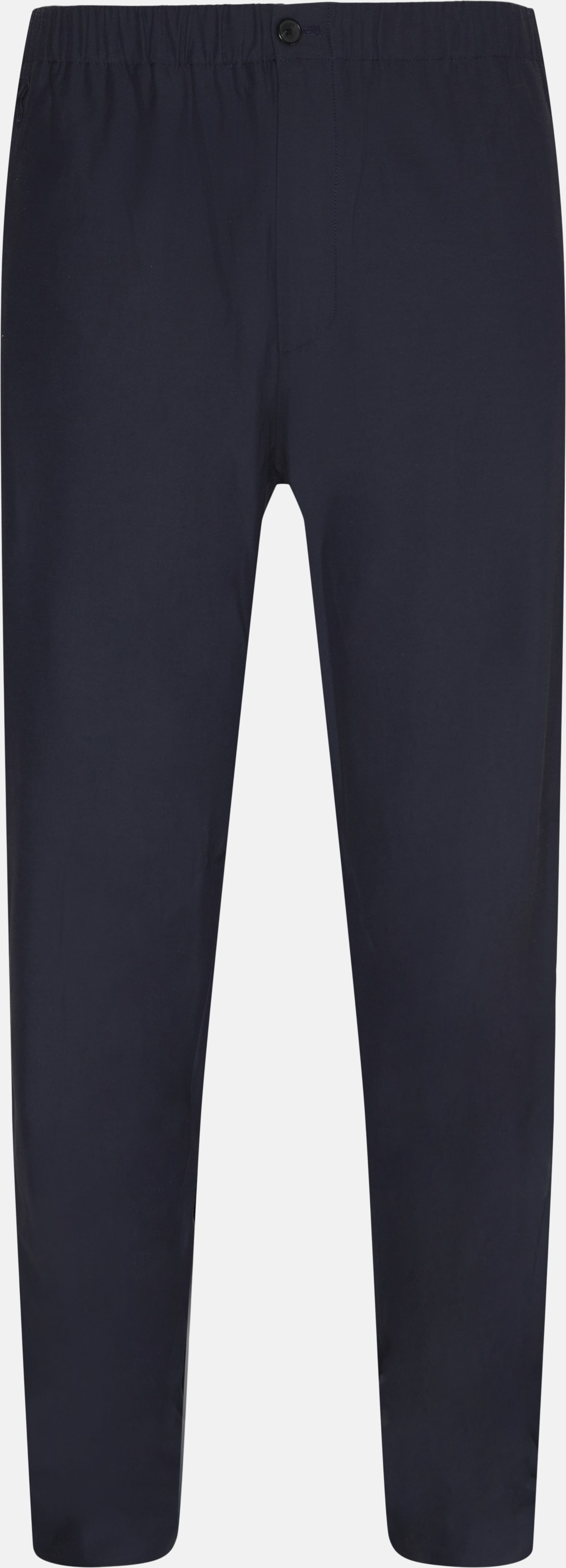 Trousers - Loose - Blue