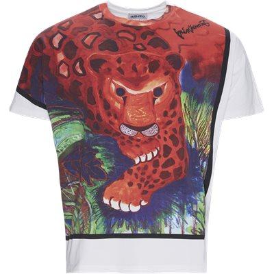 Regular fit | T-shirts | Hvid