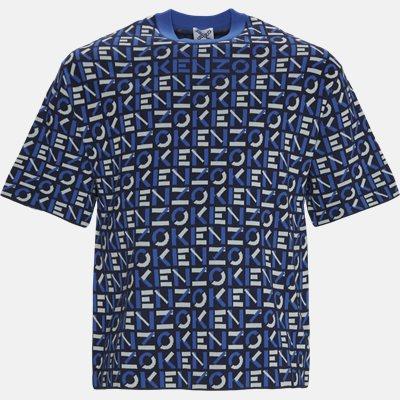 Oversized | T-shirts | Blå