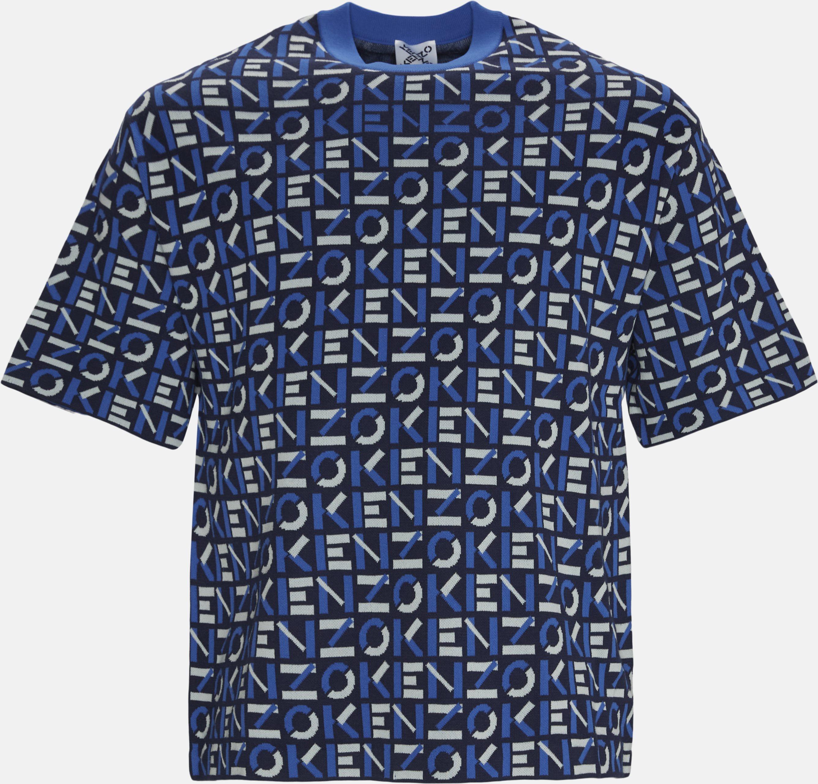 T-shirts - Oversize fit - Blue