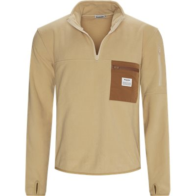Pullover Fleece Anorak Regular | Pullover Fleece Anorak | Sand