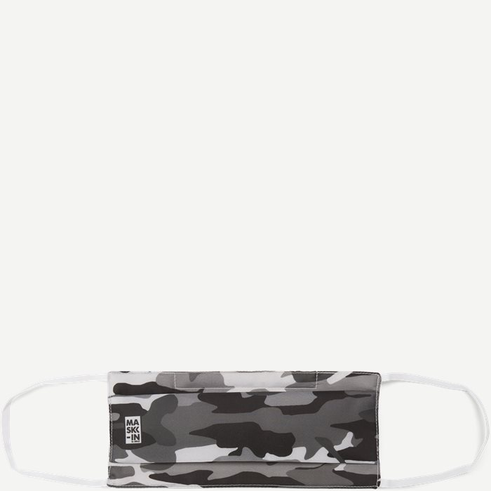 Camoflage Face Mask - Accessories - Grey
