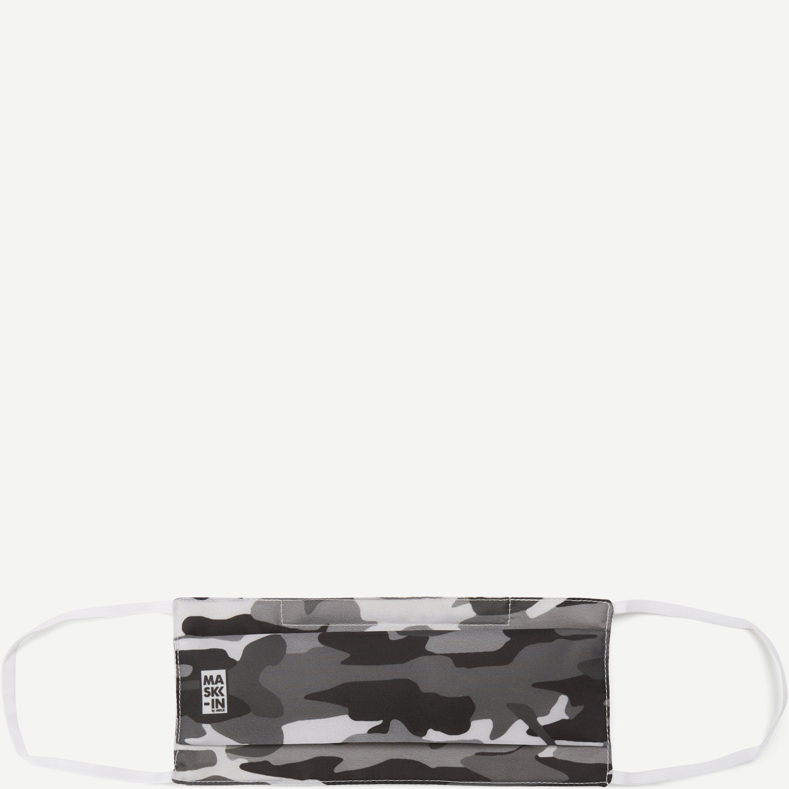 Camoflage Face Mask - Accessories - Grå