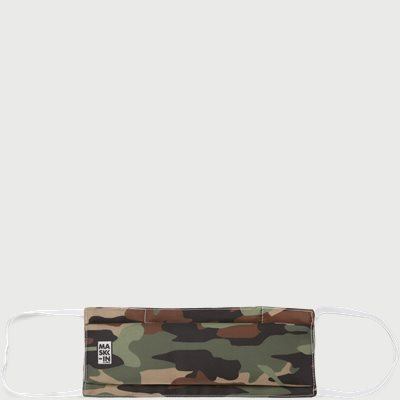 Camoflage Face Mask Camoflage Face Mask | Sort