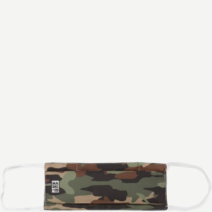 Camoflage Face Mask - Accessories - Black