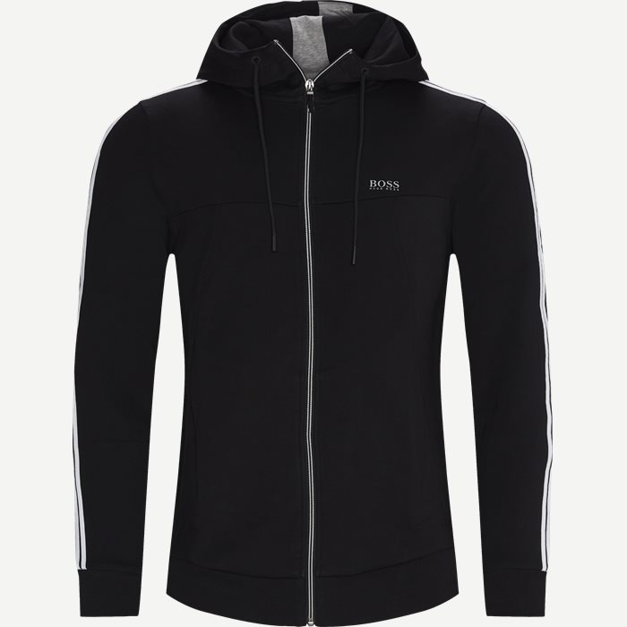 Tracksuit Set 2 Zip Sweatshirt - Sweatshirts - Regular - Black