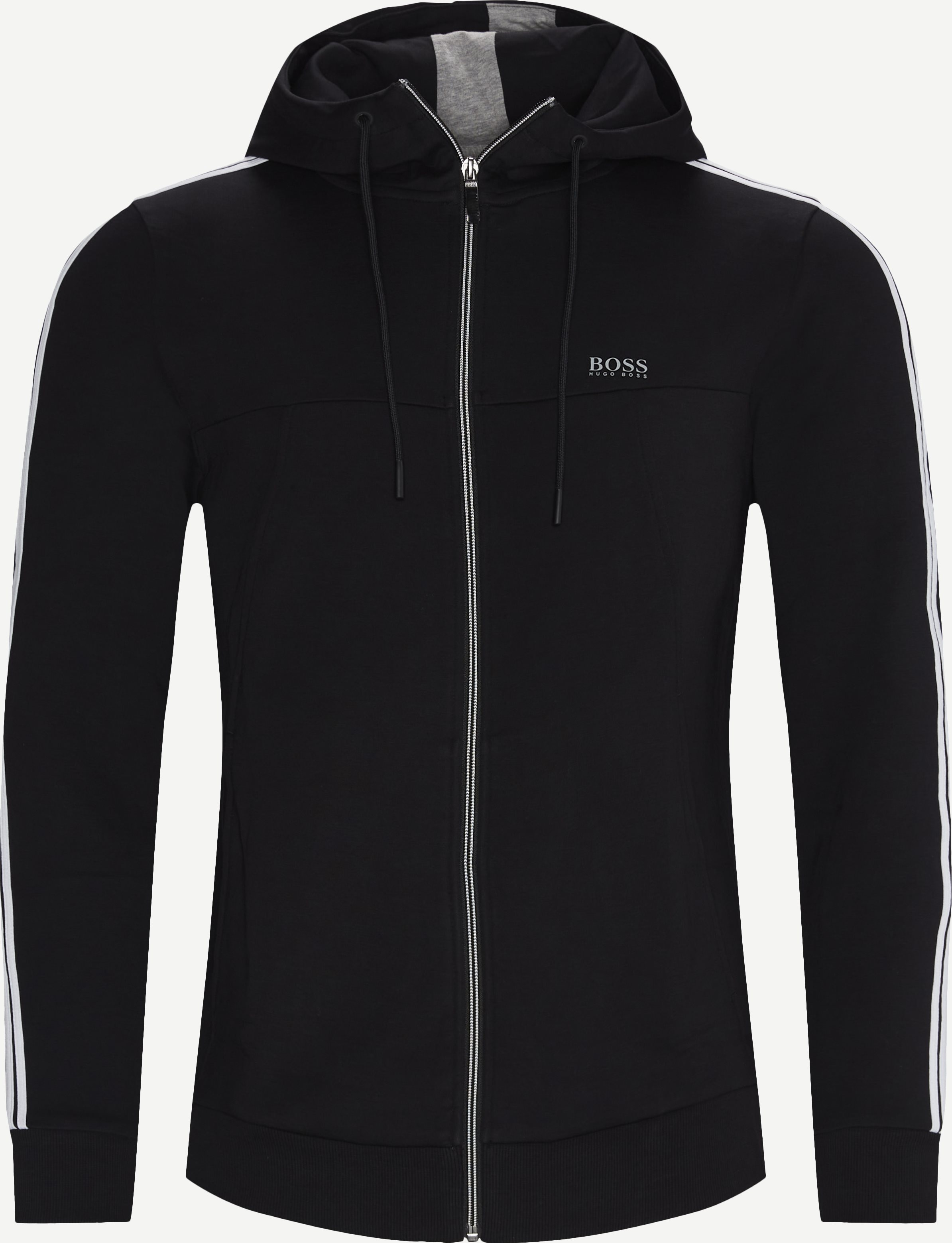 Tracksuit Set 2 Zip Sweatshirt - Sweatshirts - Regular - Svart