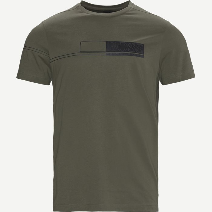 Tee 1 T-shirt - T-shirts - Regular - Green