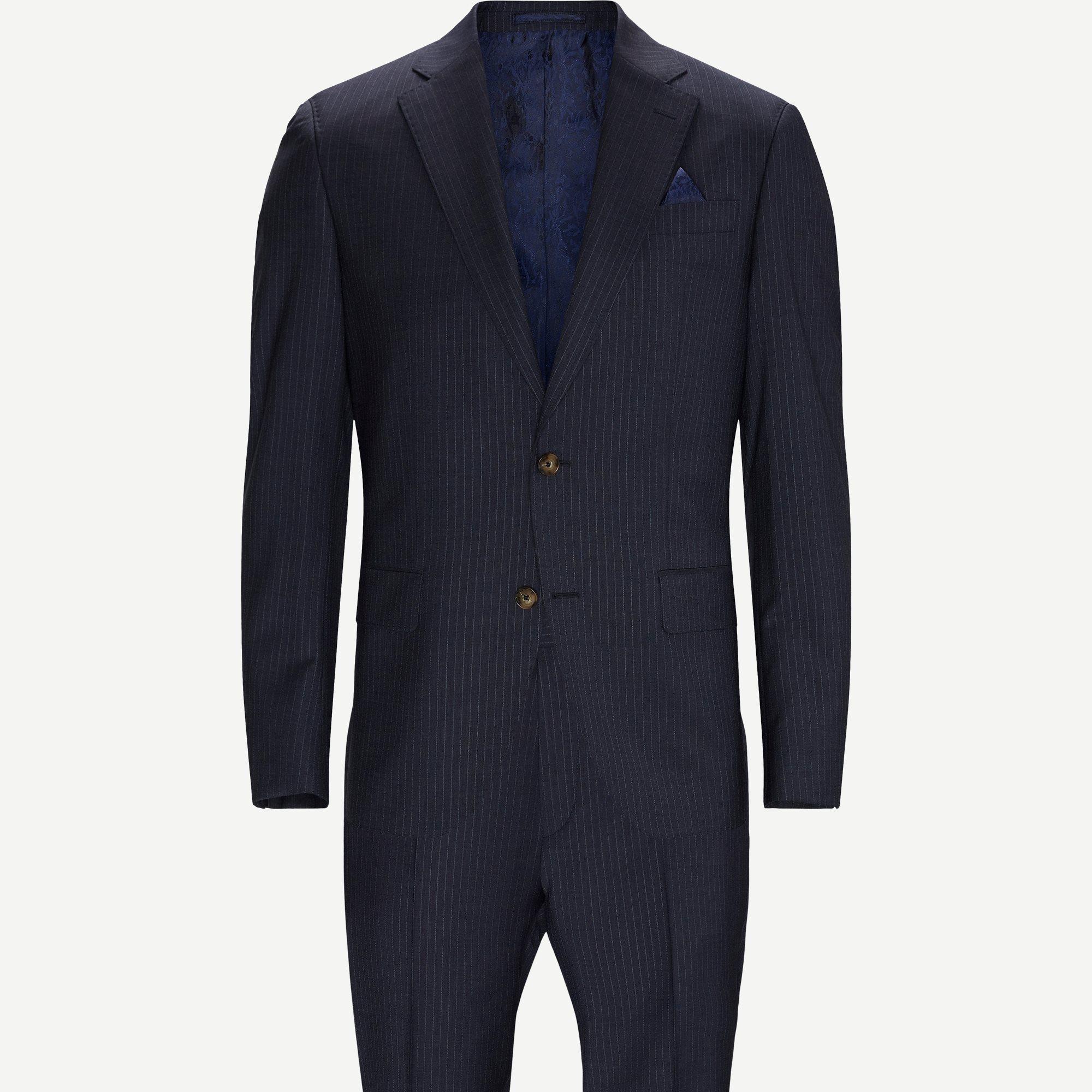 1825 Star Napoli Craig/Sherman Brandon Habit - Kostymer - Blå