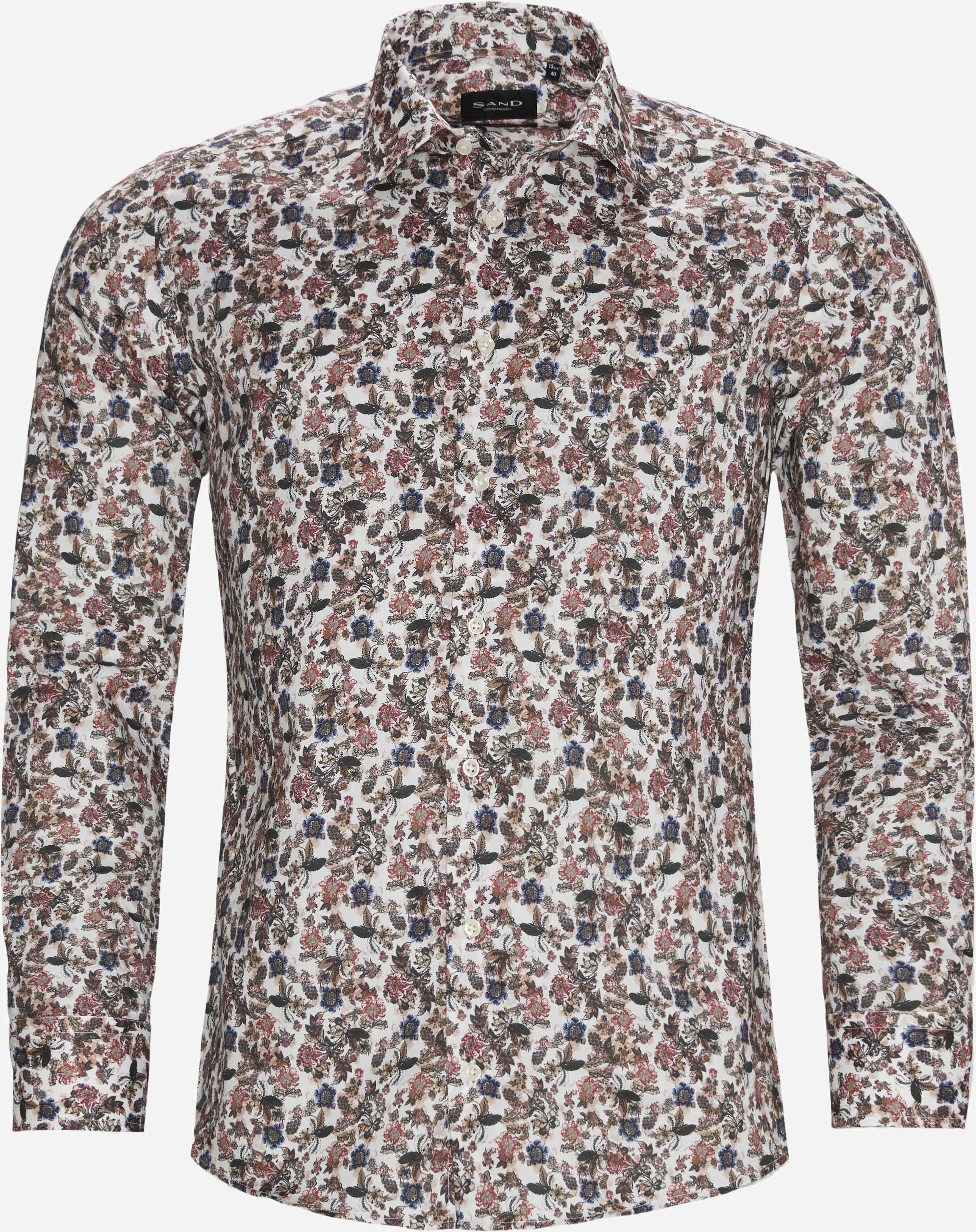 8763 Iver2/State Shirt - Skjorter - Brun