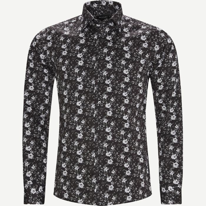 8755 Iver State2/State Shirt - Skjortor - Svart