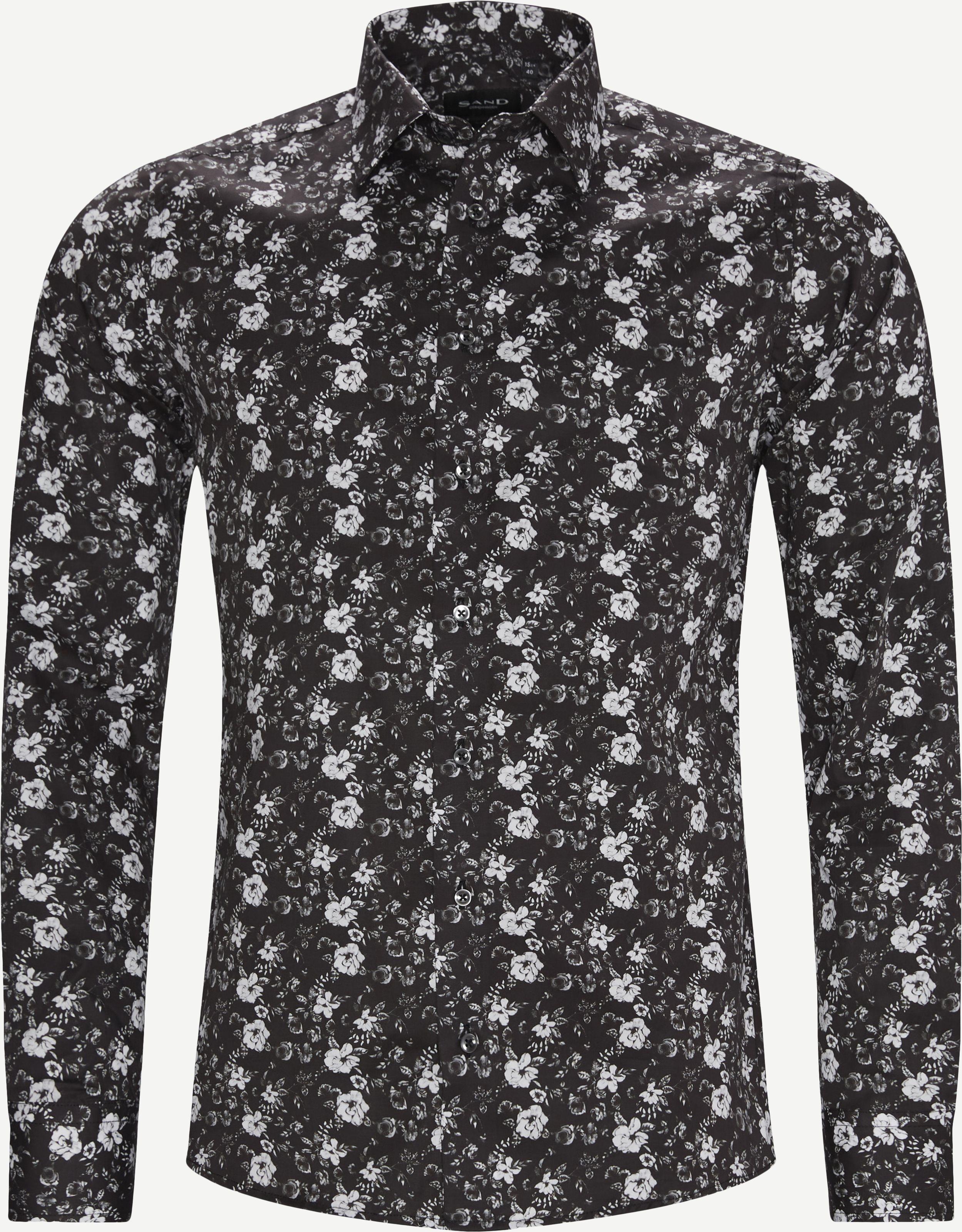 8755 Iver State2/State Shirt - Skjorter - Sort