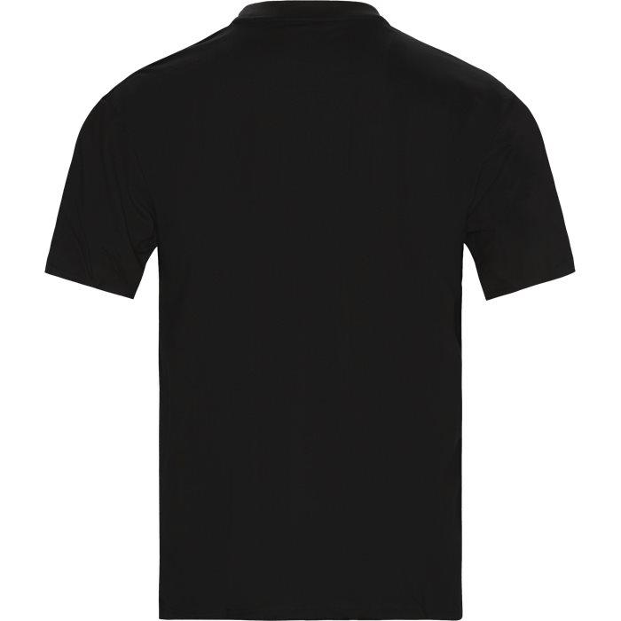 SMALL SIGNATURE Tee - T-shirts - Regular - Sort