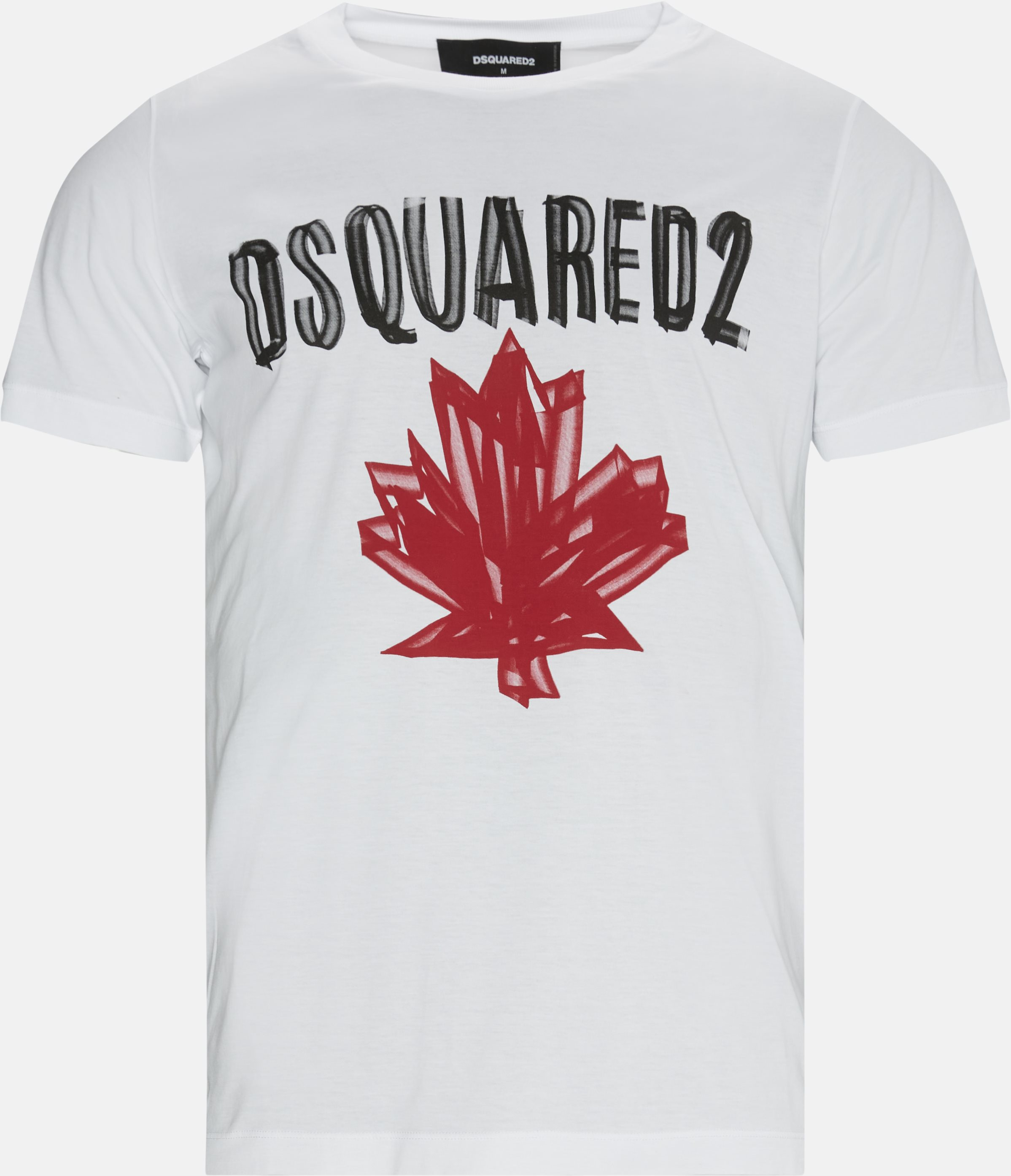 T-shirts - Regular - Hvid