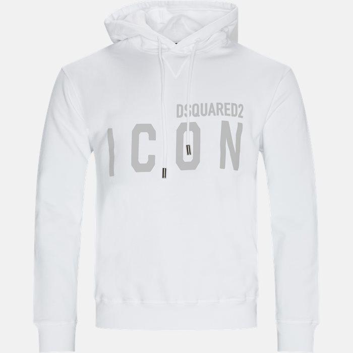 Sweatshirts - Regular - Hvid
