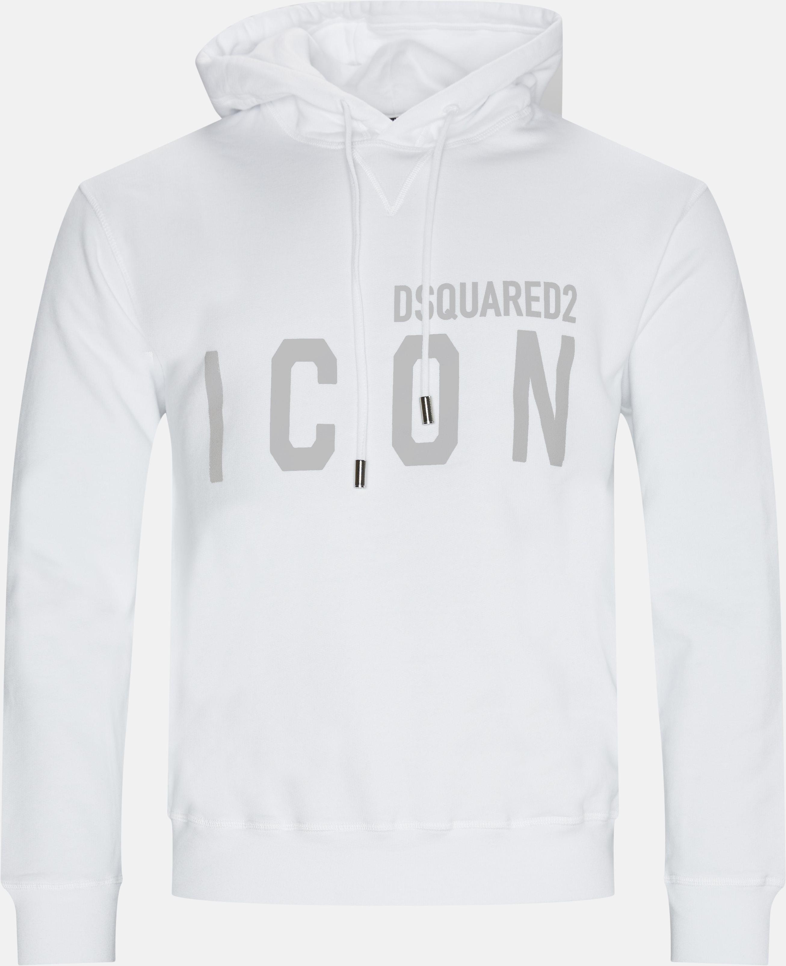 Sweatshirts - Regular fit - White