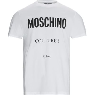 Regular fit   T-shirts   Hvid