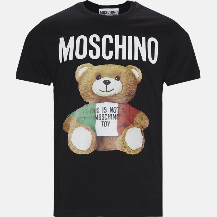 T-shirts - Regular - Sort
